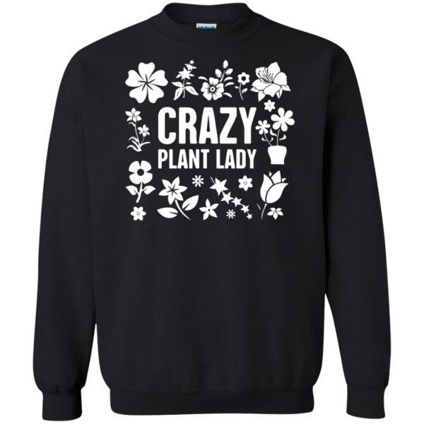 Crazy Plant Lady sweatshirt - black