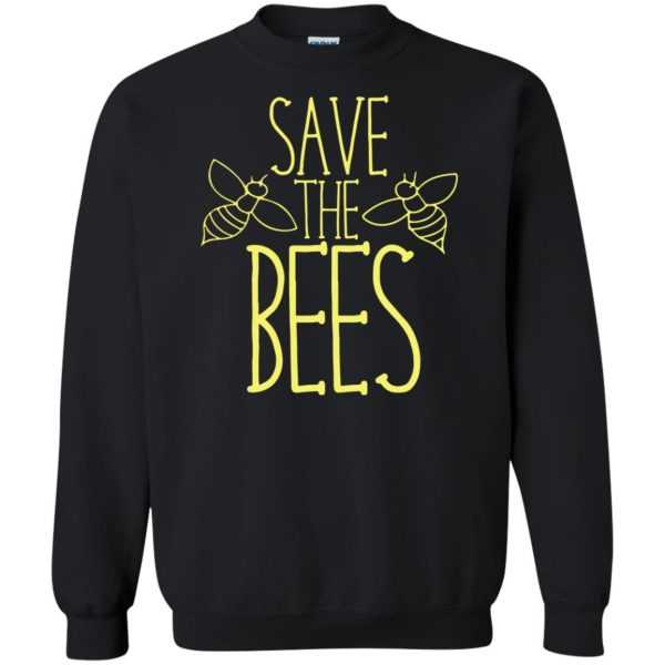 Save the bees sweatshirt - black
