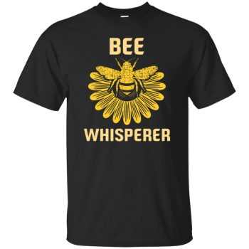 Bee Whisperer T-shirt - black