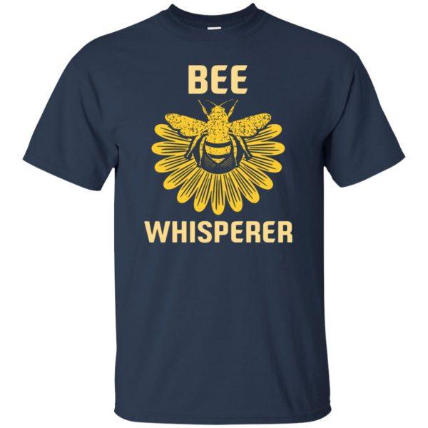 Bee Whisperer t shirt - navy blue