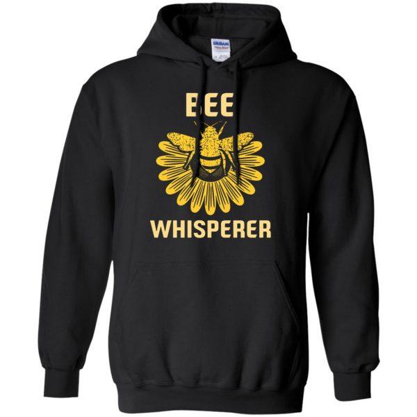 Bee Whisperer hoodie - black