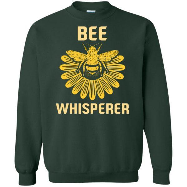 Bee Whisperer sweatshirt - forest green