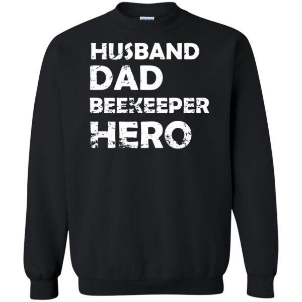 Husband Dad Beekeeper Hero sweatshirt - black