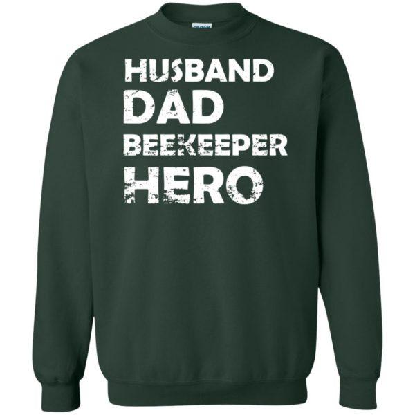 Husband Dad Beekeeper Hero sweatshirt - forest green