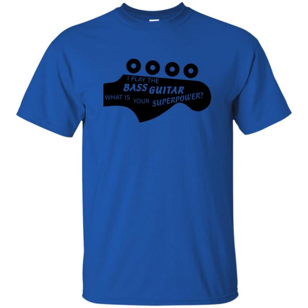 Bass Superpower t shirt - royal blue