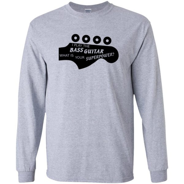 Bass Superpower long sleeve - sport grey
