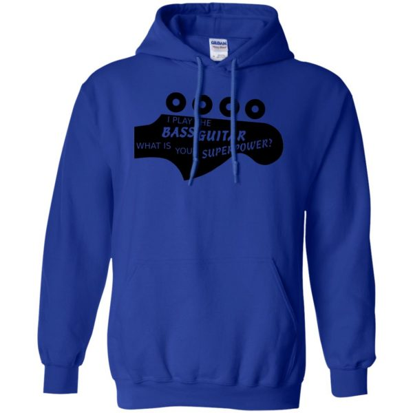 Bass Superpower hoodie - royal blue