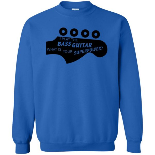 Bass Superpower sweatshirt - royal blue
