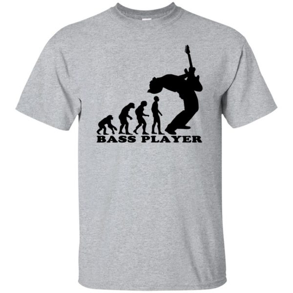 Bass Guitar Evolution T-shirt - sport grey