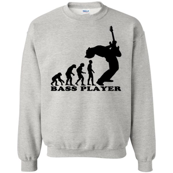 Bass Guitar Evolution sweatshirt - ash