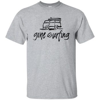 Gone Surfing T-shirt - sport grey