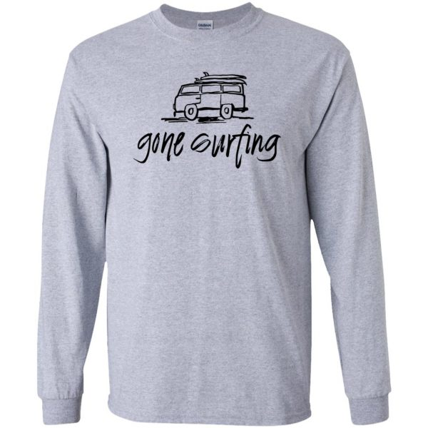 Gone Surfing long sleeve - sport grey