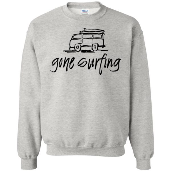 Gone Surfing sweatshirt - ash