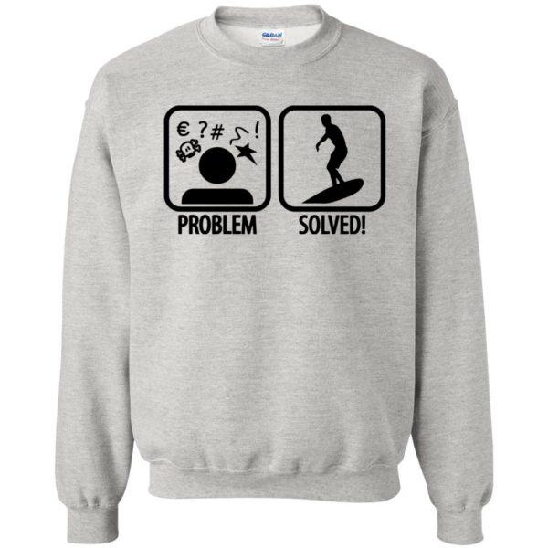 Problem - Solved - Surfing sweatshirt - ash