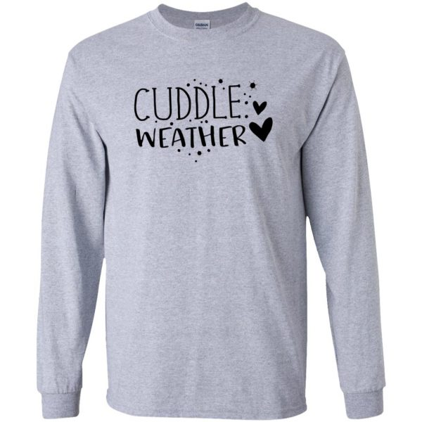 cuddle long sleeve - sport grey