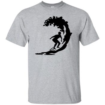 Surfing T-shirt - sport grey