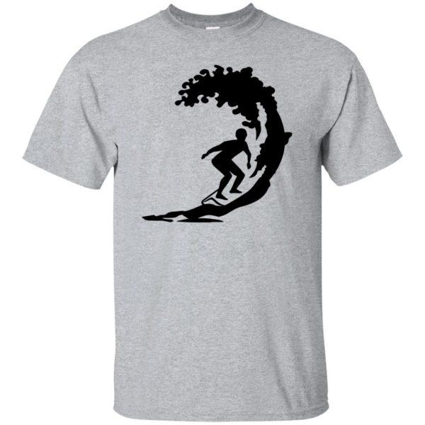 Surfing T-shirt - sport grey
