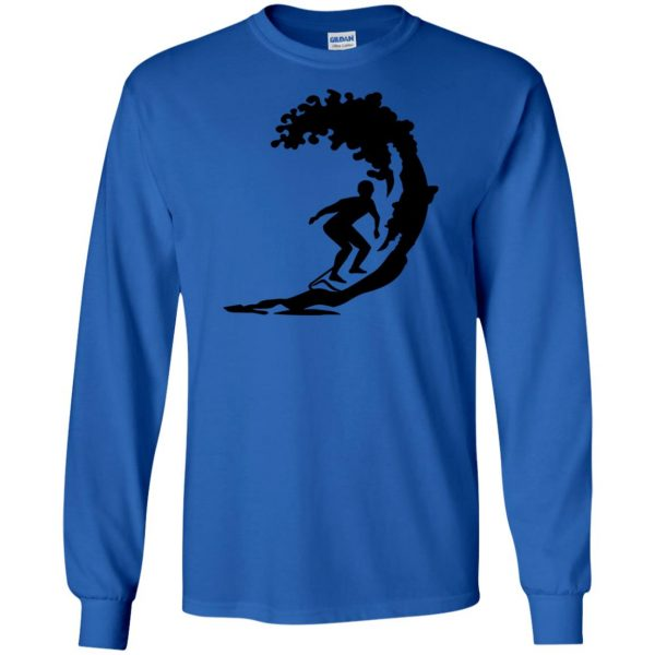 Surfing long sleeve - royal blue