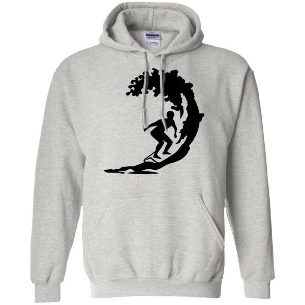 Surfing hoodie - ash