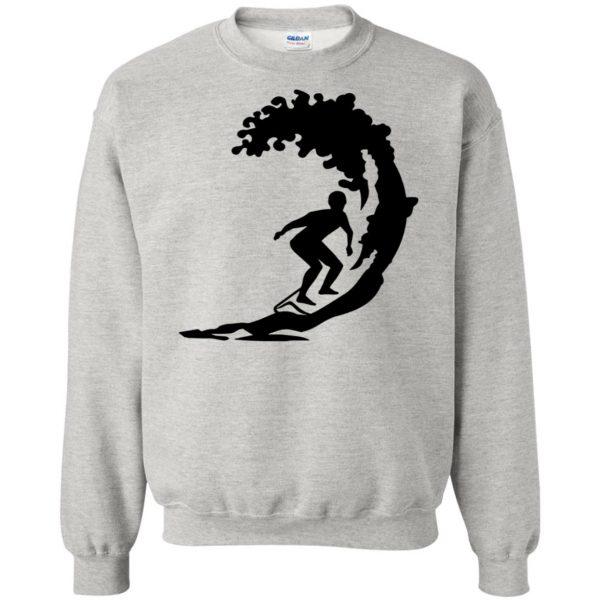 Surfing sweatshirt - ash