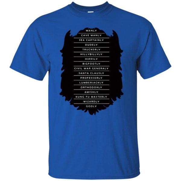 Measure of a Man t shirt - royal blue