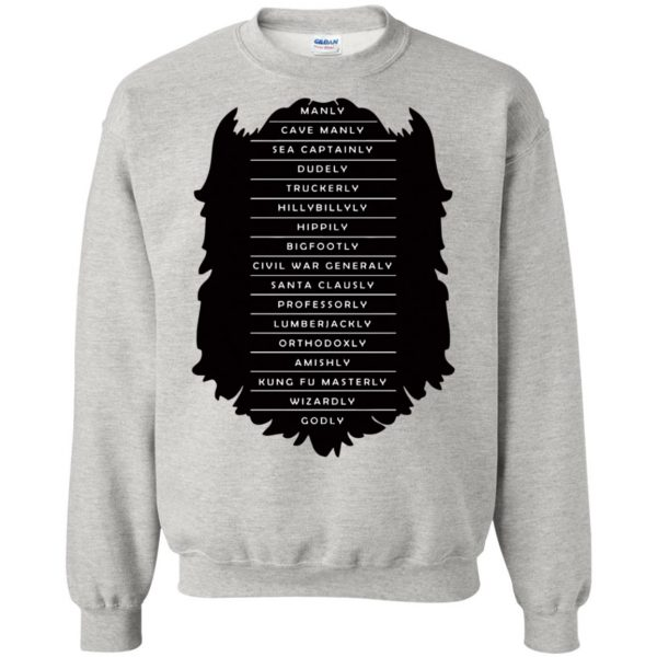 Measure of a Man sweatshirt - ash