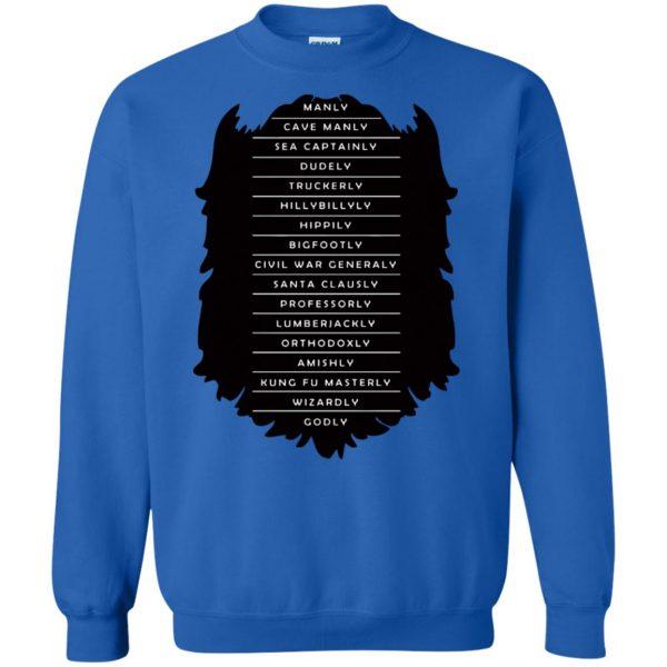 Measure of a Man sweatshirt - royal blue