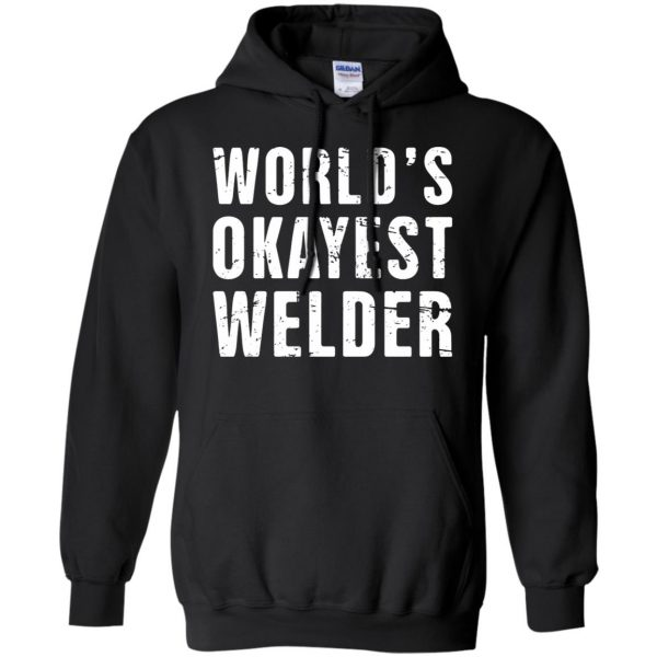 Funny Welding Quote hoodie - black