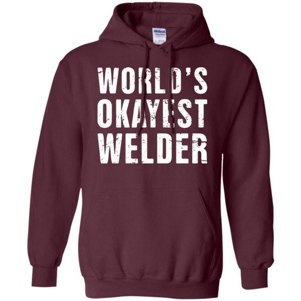 Funny Welding Quote hoodie - maroon