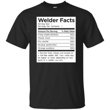Welder Facts - black