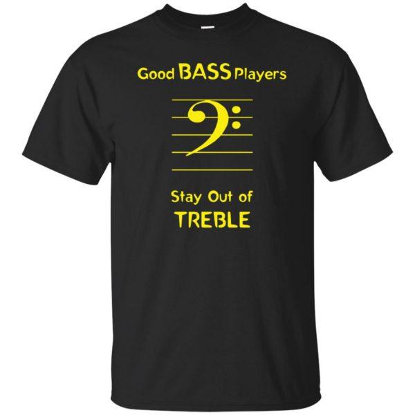 Good Bass Player - black