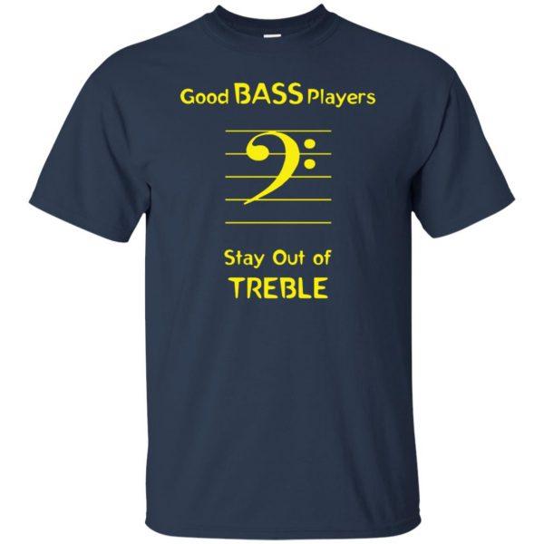 Good Bass Player t shirt - navy blue