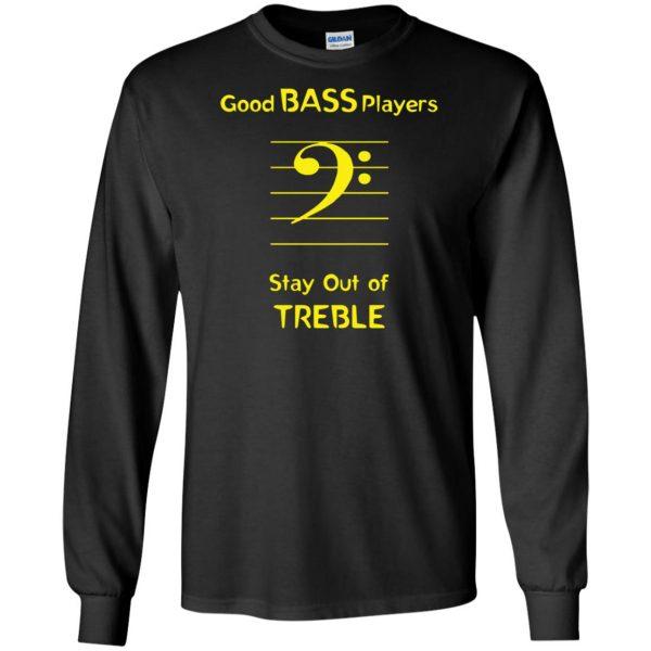 Good Bass Player long sleeve - black