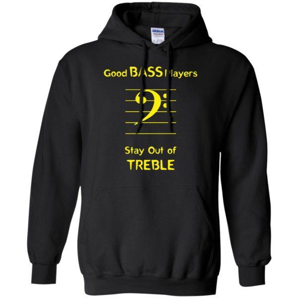 Good Bass Player hoodie - black