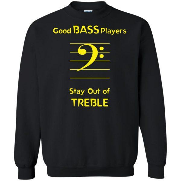 Good Bass Player sweatshirt - black