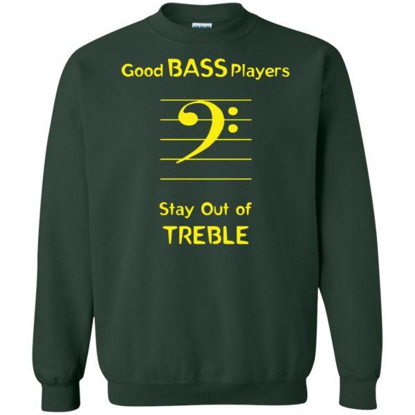 Good Bass Player sweatshirt - forest green