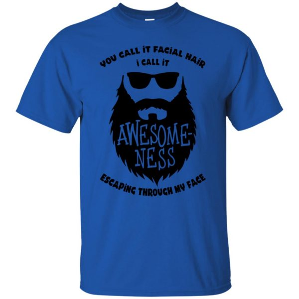 I Call It Awesome Ness t shirt - royal blue