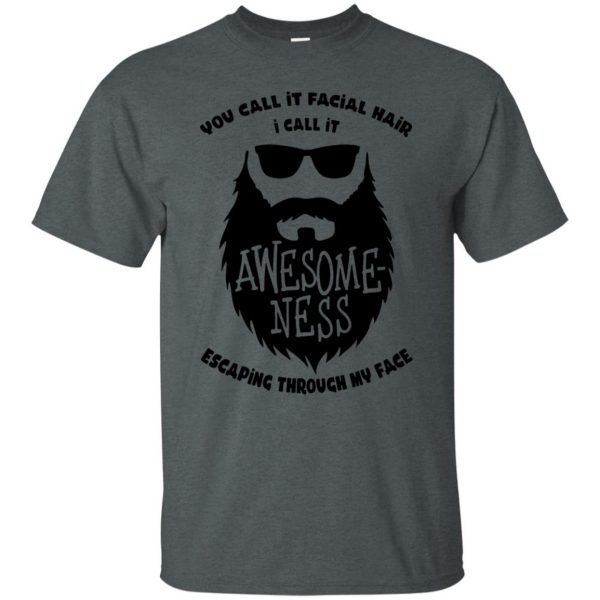 I Call It Awesome Ness t shirt - dark heather