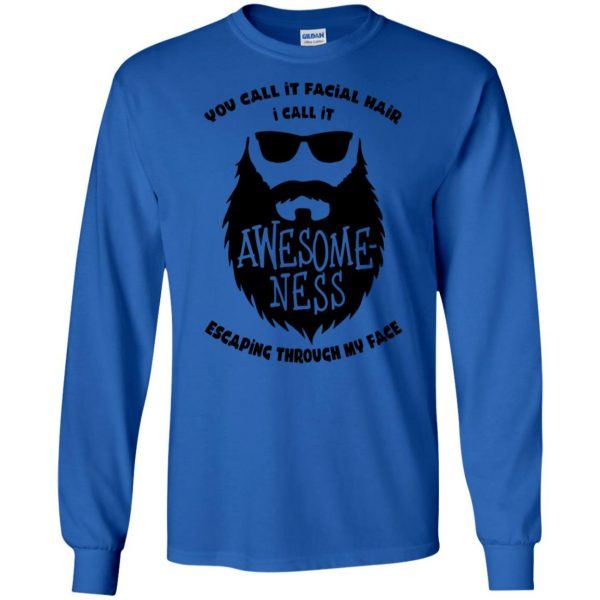 I Call It Awesome Ness long sleeve - royal blue