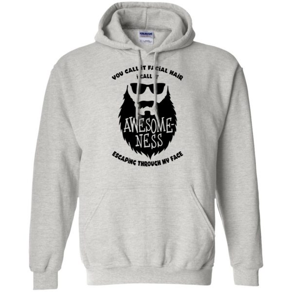 I Call It Awesome Ness hoodie - ash