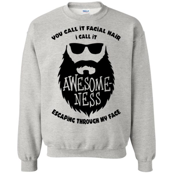 I Call It Awesome Ness sweatshirt - ash