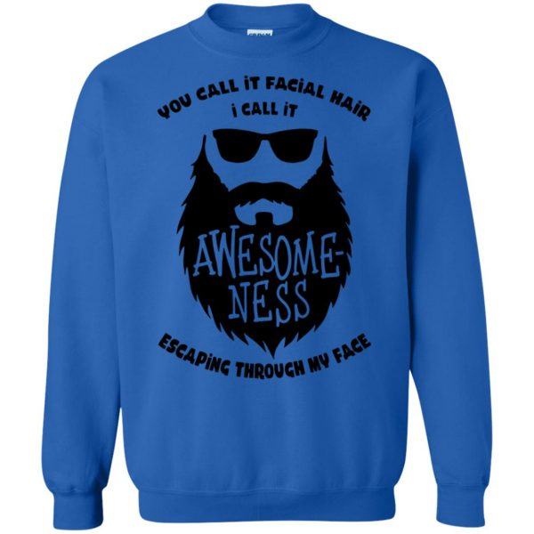 I Call It Awesome Ness sweatshirt - royal blue