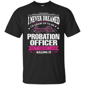 probation officer shirts - black