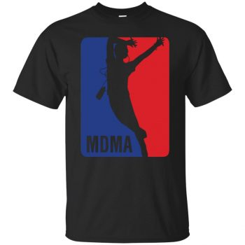 mdma shirt - black