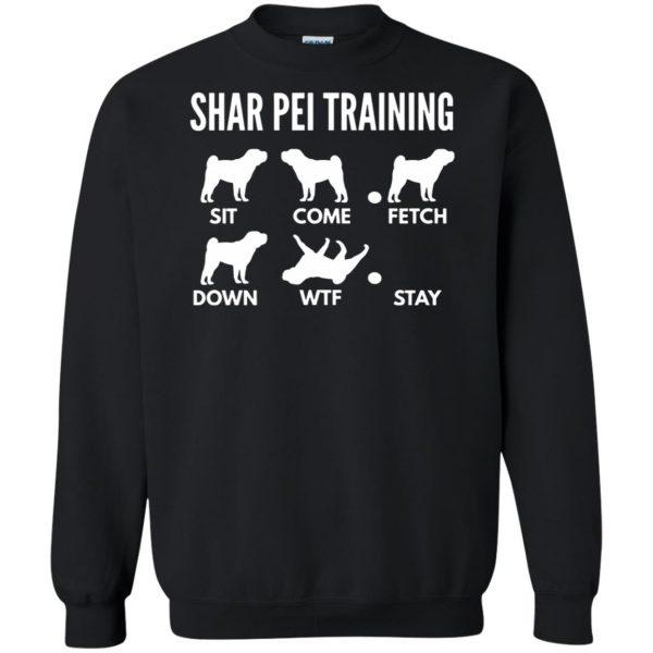 shar pei sweatshirt - black