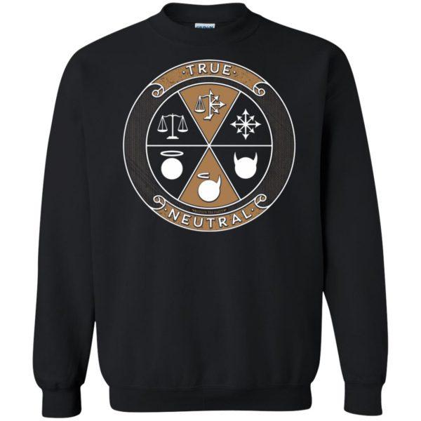 true neutral sweatshirt - black