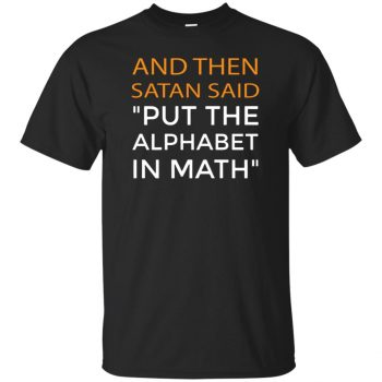 algebra t shirt - black